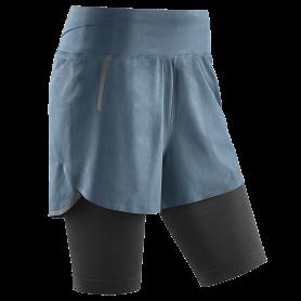 Run 2 in 1 shorts 3.0 - Grey
