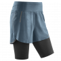 Run 2 in 1 shorts 3.0 - Grey