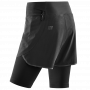 Run 2 in 1 shorts 3.0 - Black