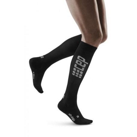 Run Ultralight Socks - Black / Grey CEP - 1