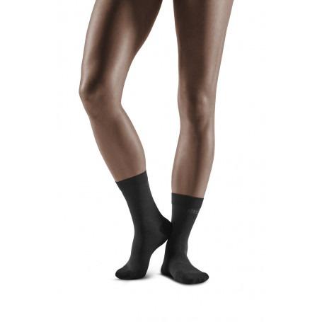 Business Socks - Short Black