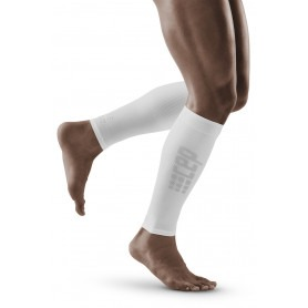 Ultralight Calf Sleeves - White / Grey