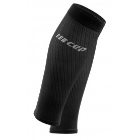 Ultralight Compression Calf Sleeves - Black / Light Grey