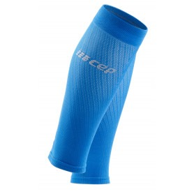 Ultralight Compression Calf Sleeves - Electric Blue / Light Grey