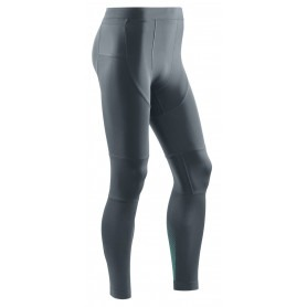 Run Compression Tights 3.0 - Grey / Mint