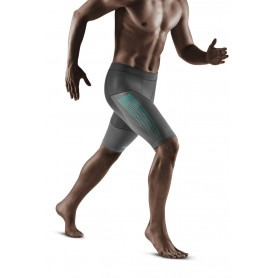 Run Compression Shorts 3.0 - Grey / Mint