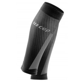 Ultralight PRO Compression Calf Sleeves - Electric Blue / Light Grey