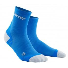 Ultralight Compression Short Socks - Grey / Light Grey