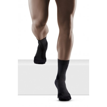 Hiking Merino Compression Mid Cut Socks - Men