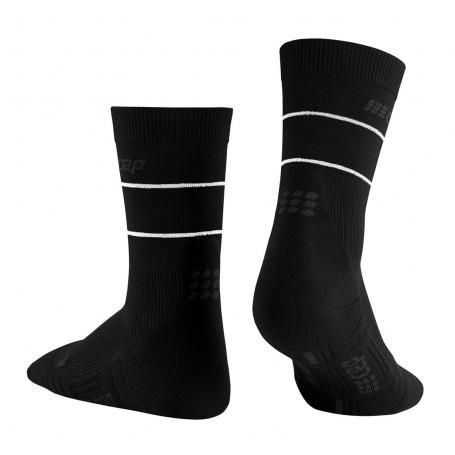 REFLECTIVE MID CUT Socks WOMAN