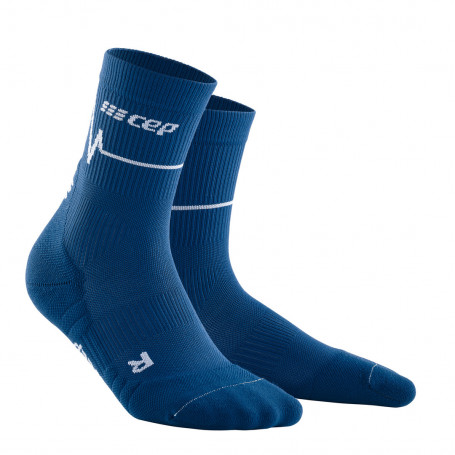 Heartbeat compression MID CUT socks Women
