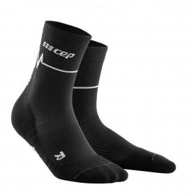Heartbeat compression MID CUT socks MEN