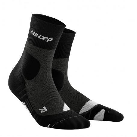 Hiking compression Merino MID-CUT socks WOMAN CEP - 1