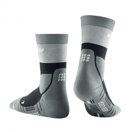 Hiking compression Light Merino MID-CUT Socks WOMEN CEP - 4