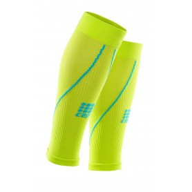 Pro+ Sleeves - Lime/Hawaii Blue