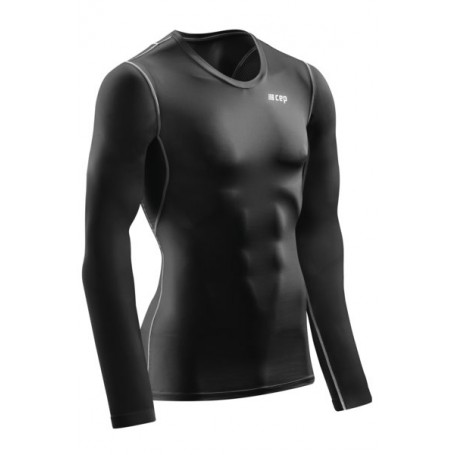 Wingtech Shirt Langærmet - Black