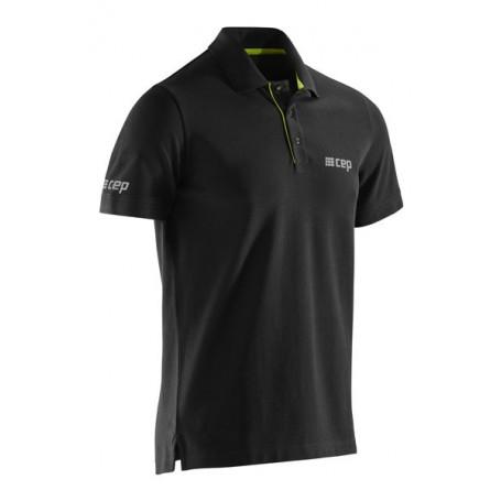 CEP Brand Polo - Black/Lime CEP - 1