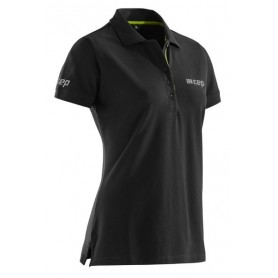 CEP Brand Polo - Black/Lime